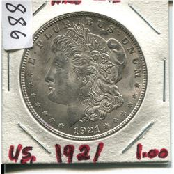 1921 USA MORGAN DOLLAR (SILVER)