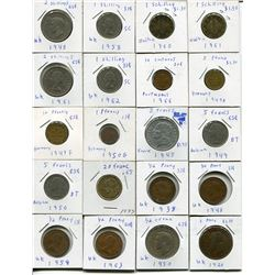 LOT OF FOREIGN COINS (SHILLINGS, CENTAVO, PFENNIGS, ETC.) *QUANTITY 30*