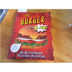 BOOK - THE BURGER Ka-POW!!