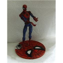 ACTION FIGURE - SPIDERMAN ON SPIDERMAN STAND