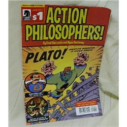 DARK HORSE COMICS - ACTION PHILOSOPHERS - PLATO #1 REALLY GOOD CONDITION