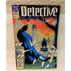 DETECTIVE #610 - COVER TORN & TAPED - CONDITION BAD