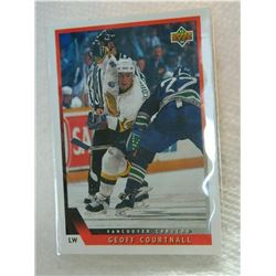 HOCKEY CARD - GEOFF COURTNALL - #114