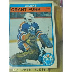 HOCKEY CARD - GRANT FUHR - #105 - CONDITION - GOOD