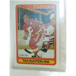 HOCKEY CARD - TIM HUNTER - #434