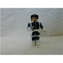 LEGO MINI FIGURE - BLUE & WHITE WITH 2 GUNS & HOLSTERS