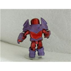 MINI FIGURE - RED & PURPLE - WITH ARMOUR & STAND
