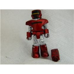 MINI FIGURE - RED & SILVER & ACCESSORIE