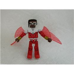 MINI FIGURE - RED & WHITE - WITH WINGS