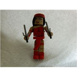 MINI FIGURE - RED - WITH 2 WEAPONS