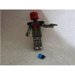 MINI FIGURE - SILVER - TRANSFORMING HEAD, GUN & EXTRA HAND