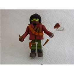 MINI FIGURE - WITH KNIVES, SHEATH, & EXTRA ARMS