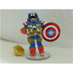 MINI FIGURE - WITH STAND - EXTRA HAIR, GUN, HOLSTER & SHIELD