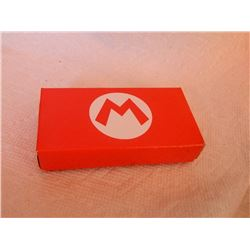 NINTENDO 3DS - MARIO BROS. PINS - IN ORIGINAL BOX