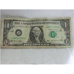 PAPER NOTE - USA - $1 - 2003