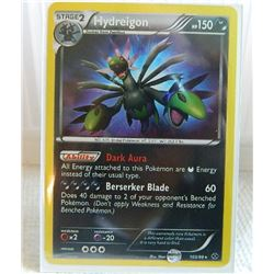 POKEMON COLLECTOR CARD IN PROTECTIVE SLEEVE - HYDREIGON STAGE 2  HOLO - 103/99