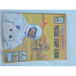 STAMP ALBUM - WORLKD WIDE ALBUMN - SOME STAMPS INCLUDED