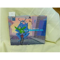 THE ART OF MONSTER'S INC REALLY GOOD CONDITION
