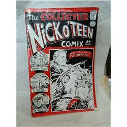 THE COLLECTED NICK O'TEEN COMIC - 64 PGS - CONDITION GOOD