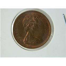 COIN - 1 NEW PENCE - 1971