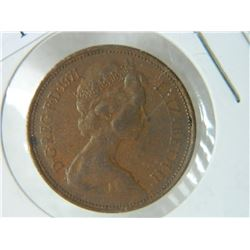 COIN - 2 NEW PENCE - 1971