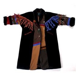 Western Buffalo Robe Full Length Coat