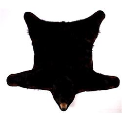 Trophy Montana Black Bear Full Body Rug Mount