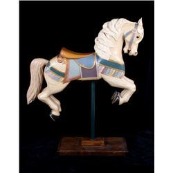 Big Sky Carvers Wood Carousel Horse by Stuart Bond