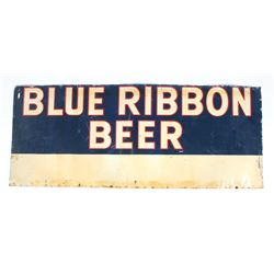 Pabst Blue Ribbon Beer Advertising Sign