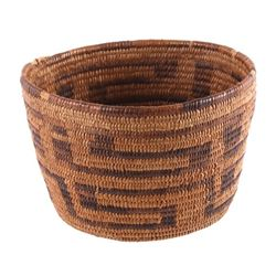 Early Pima Native American Indian Basket