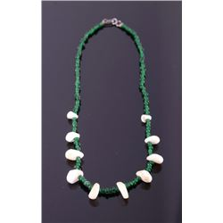 Pacific Coast Indian Mother of Pearl Necklace
