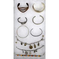 Sterling Silver Jewelry, Some Native American