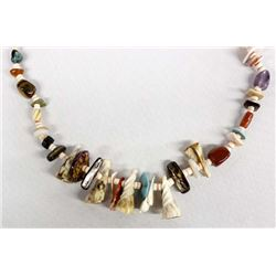 Native American Navajo Treasure Necklace