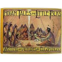 Indian Tales for Little Folks by El Comancho