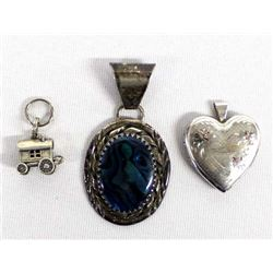 3 Pieces of Sterling Silver Jewelry
