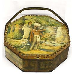 Antique Vintage Loose-Wiles Biscuit Company Tin