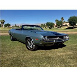 SATURDAY FEATURE 3:30 PM 1971 DODGE CHALLENGER 383 CONVERTIBLE FRAME OFF RESTORATION