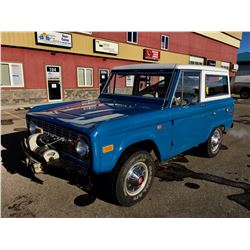 1972 FORD BRONCO SPORT