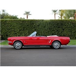 1966 FORD MUSTANG A CODE CONVERTIBLE