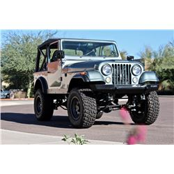 1976 JEEP CJ-7 CUSTOM