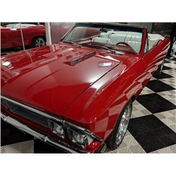 1966 PONTIAC BEAUMONT CONVERTIBLE SPORT DELUXE CUSTOM SHOW CAR