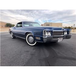 1970 CADILLAC ELDORADO STUNNING LOW MILE COUPE