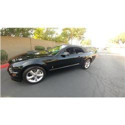 2007 MUSTANG GT/CS CALIFORNIA SPECIAL CONVERTIBLE