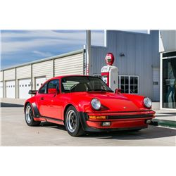 1986 PORSCHE 911 TURBO COUPE