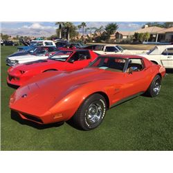 1973 CHEVROLET CORVETTE 4 SPEED