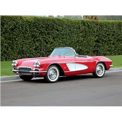 1961 CHEVROLET CORVETTE C1 ROADSTER 4 SPEED