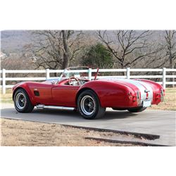 1966 SHELBY COBRA ROADSTER