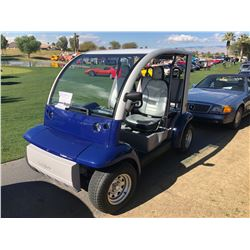 2002 FORD THINK CONVERTIBLE ELECTRIC BLUE