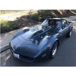 FRIDAY 1980 CHEVROLET CORVETTE 34000 ORIGINAL MILES
