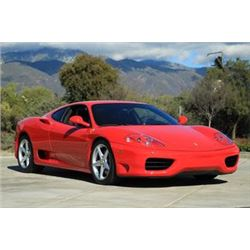 FRIDAY 1999 FERRARI 360 MODENA STUNNING ONLY 7100 MILES